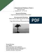 yoga for emotional balance part 1