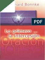 Reinhard Bonnke Lo Primero La Intercesic3b3n1