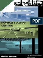 Habitat Centre Report