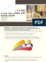Objetivos 5 y 6 Del Plan Nacional Del
