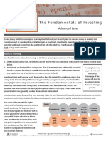 the fundamentals of investing info sheet 2 4 4 f1