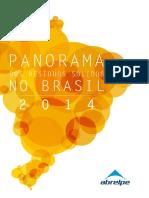 ABRELPE - Panorama Dos Resíduos Sólidos No Brasil 2014