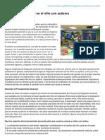 Autismodiario.org-Integración Sensorial en El Niño Con Autismo