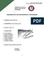 Diagnostico en Ortodoncia