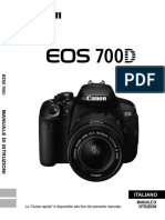 EOS 700D Instruction Manual IT