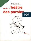 Valère Novarina-Le Théâtre Des Paroles