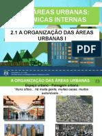 A Organização das Áreas Urbanas I - Geoport. Gina -15-16