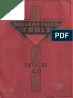 Millers Falls 1949 catalog