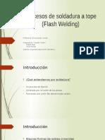 Ppt Flash Welding