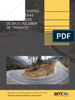 Manual de Diseño de Carreteras Pavimentadas de Bajo Volumen de Transito