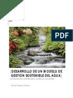 Pulgarin- Natalia - Desarrollo de Un Modelo de Gestion Sostenible Del Agua Microcuenca La Bermejala
