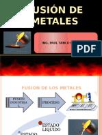 Fusion de Metales