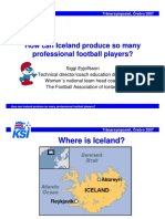 How Can Iceland Produce So Many Professional Football Players
