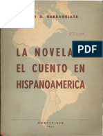 La Novela y El Cuento en La Hispanoamérica