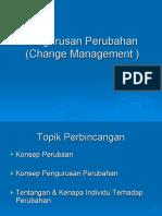 Pengurusan Perubahan