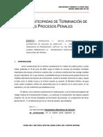 Ponencia Magdo Ortiz Formas Anticipadas de Term. Proc. Penales