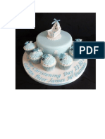 Baptsm Cake