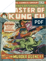 Shang-Chi Master of Kung Fu 40 Vol 1