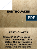 Earthquakes 6