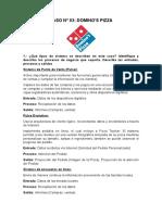 Caso 03 Dominos Pizza