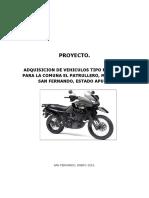 Proyecto Moto Taxi Patrullero