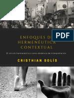 Enfoques de Hermeneutica Contextual Cristhian Solis