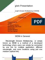 English Presentation - CWDM