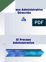 El Proceso Administrativo Direccion