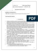 Fichamento 2 - Teorias Da Comunicação - FUNCIONALISMO