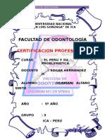 Certificación Profesional en Odontologia