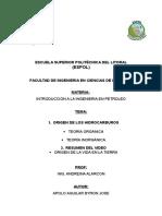 Origen Del Petroleo Introduccion Deber 2