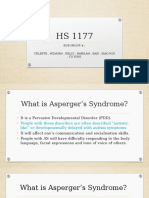 Psychology-Asperger's Syndrome