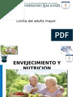 Sexualidad, Nutricion y Envejecimiento