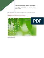 Pantallazos de Configuracion de HUAWEI RTN 620