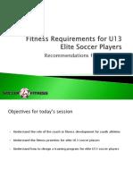 Soccer Fitness OPDL Presentation