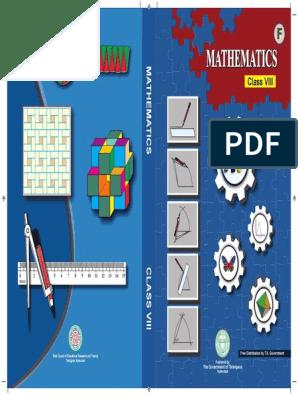 Telangana 8th class Mathematics Text book   Integer