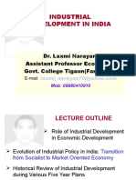 Industrial Development in India