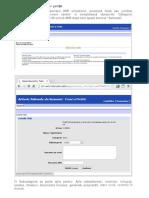 Cerere pentru accesul la documente din Arhivele Nationale