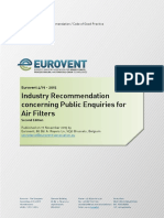Eurovent REC 4-19 - Industry Recommendation Concerning Public Enquiries for Air Filters - 2015_14477668330