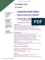 Jennifer Cluff _ Flute Etudes Graded List