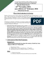 Polio Phase in tamil nadu 2016
