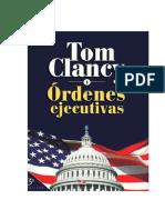 Clancy, Tom - Ordenes Ejecutivas