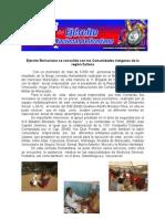 Ejército Bolivariano se consolida con las Comunidades indígenas de la región Zuliana