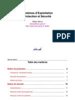Document - Informatique - Systèmes D'exploitation - Protection Et Sécurité