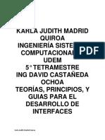 Teorias, Principios y GuiaTeorias principios y guias para el desarrollo de interfases