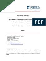 Discussion Paper 72 Csr