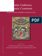 Islamic Cultures,Islamic Contexts