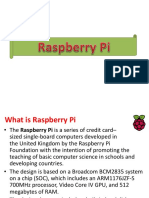 Raspberry Pi Data
