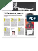 David Bowie, artista visual