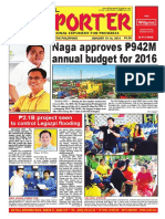 Bikol Reporter January 10 - 16, 2016 Issue